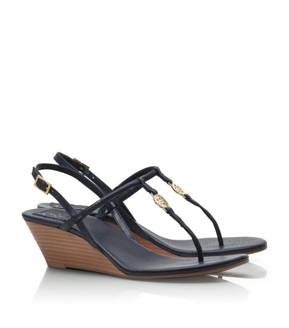 Tory Burch -  Emmy Wedge SandalsTory Burch Emmy Wedge Sandals